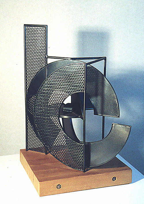 Metal sculpture Art Brenner - PRISM